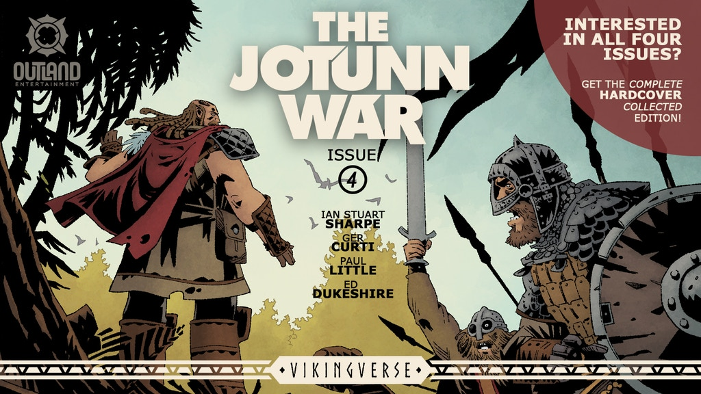 Coming Soon: Jötunn War Four and Collected Edition
